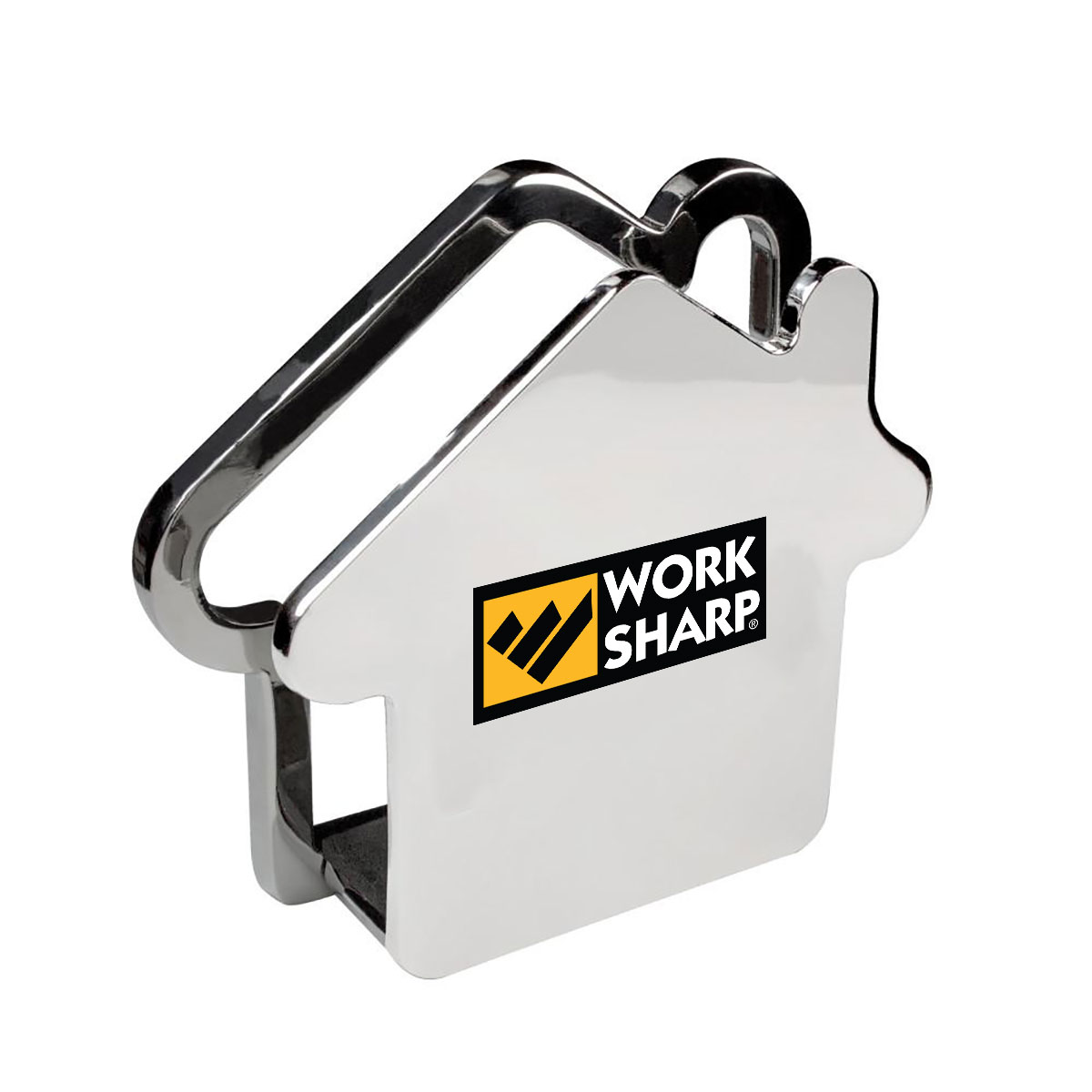 HOUSE SHAPED METAL MEMO-MAIL HOLDER