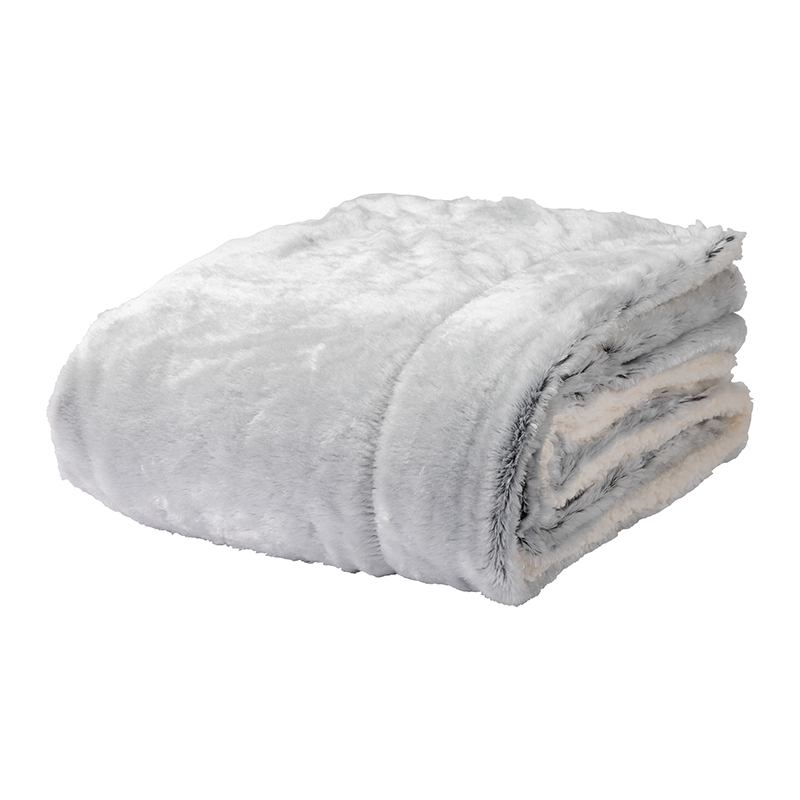 COZY FAUX FUR BLANKET