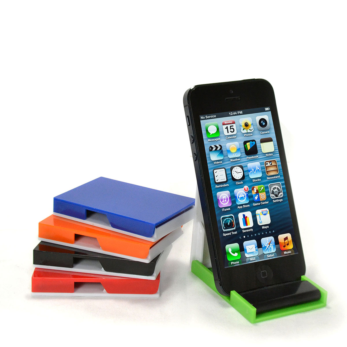 CELL PHONE STAND W/ SCREEN CLEANER