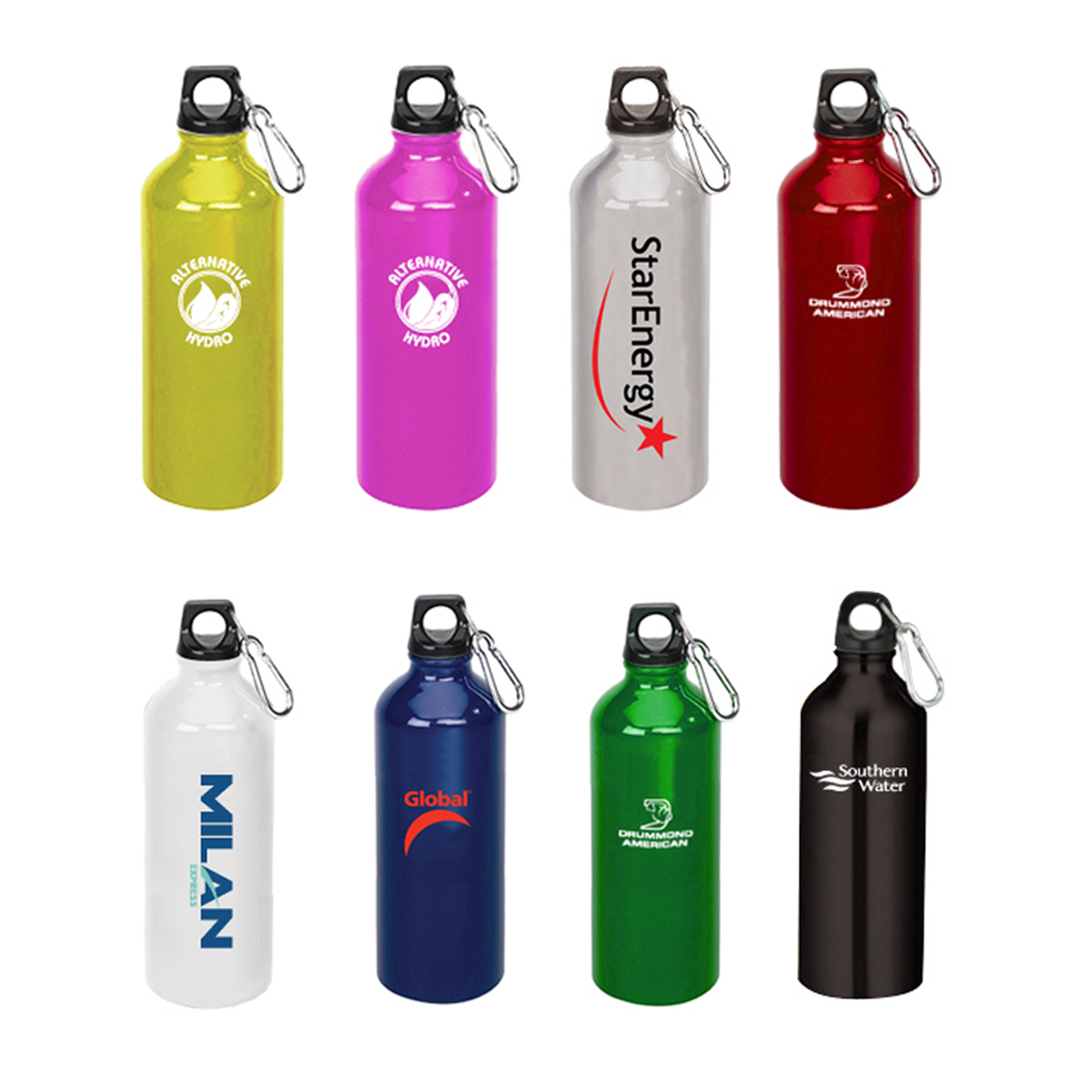 HERMES ALUMINUM WATER BOTTLE
