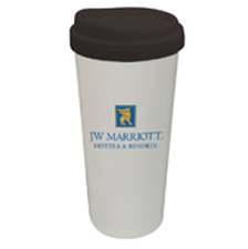 14oz. DOUBLE WALL CERAMIC TUMBLER MADE IN THE USA