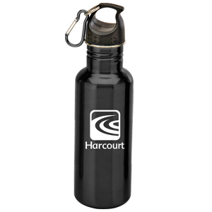 22oz. GABE STAINLESS STEEL WATER BOTTLE