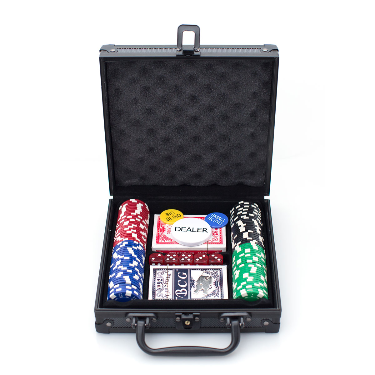 PHIL DELUXE ALUMINUM POKER SET