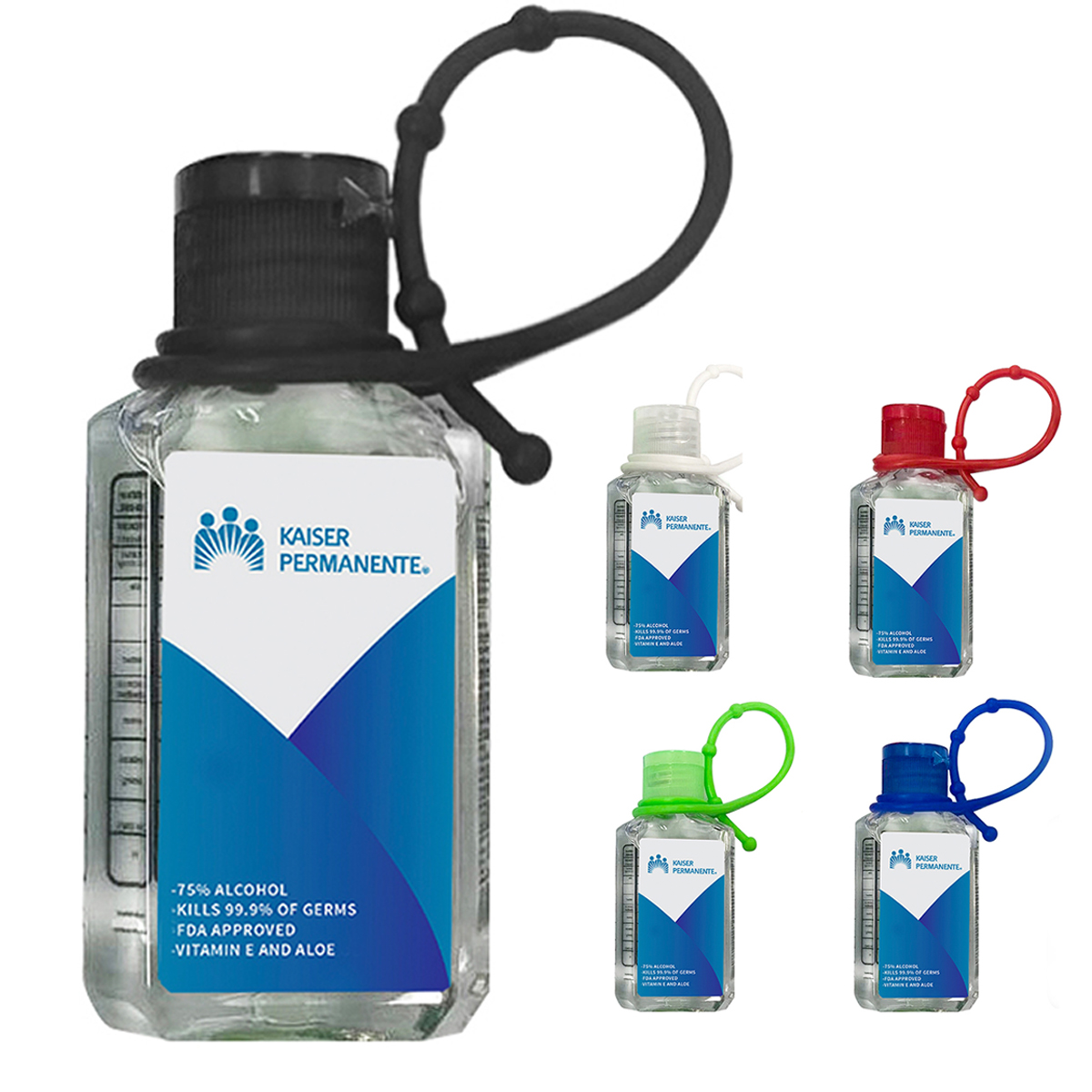 2.0 OZ HAND SANITIZER WITH SILICONE LOOP