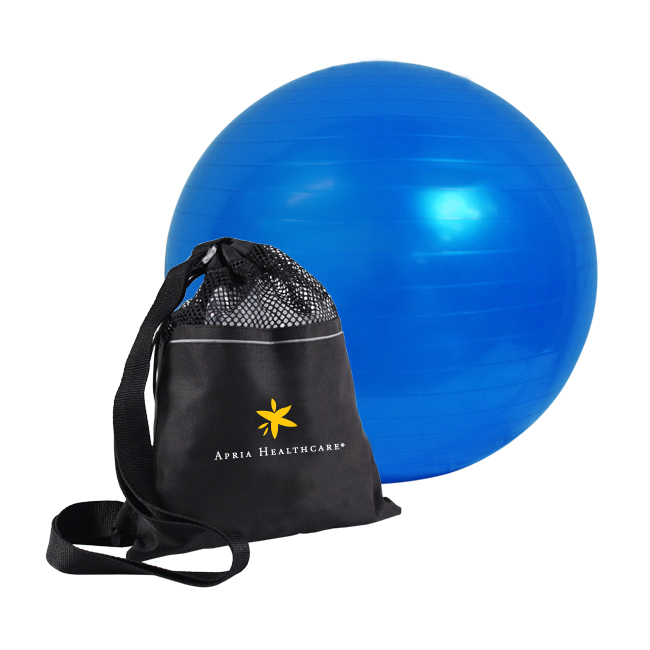 IVAN FITNESS EXERCISE YOGA BALL