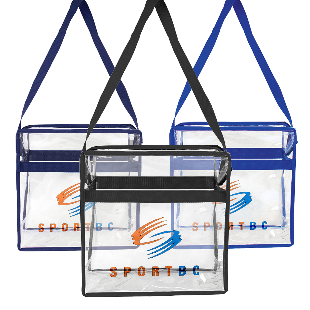 STADIUM CLEAR CROSS BODY TOTE