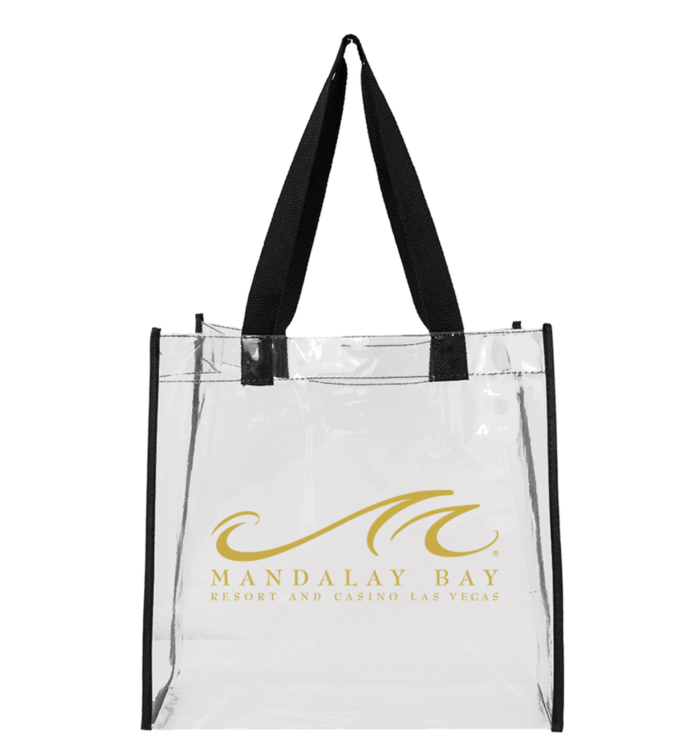 ADAMS CLEAR TOTE BAG