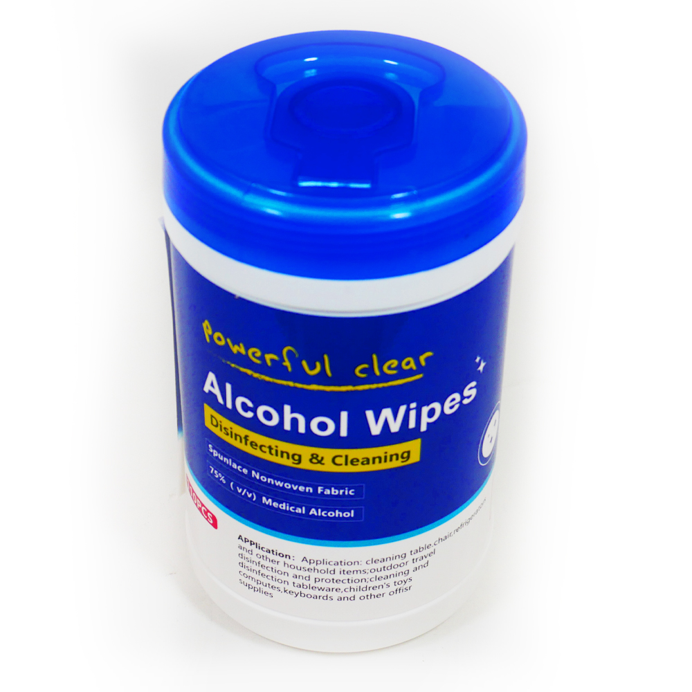 POWERFUL CLEAR 110PCS  ALCOHOL WIPES